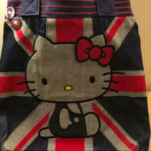 Loungefly Hello Kitty Union Jack 🇬🇧 Tote 👜
